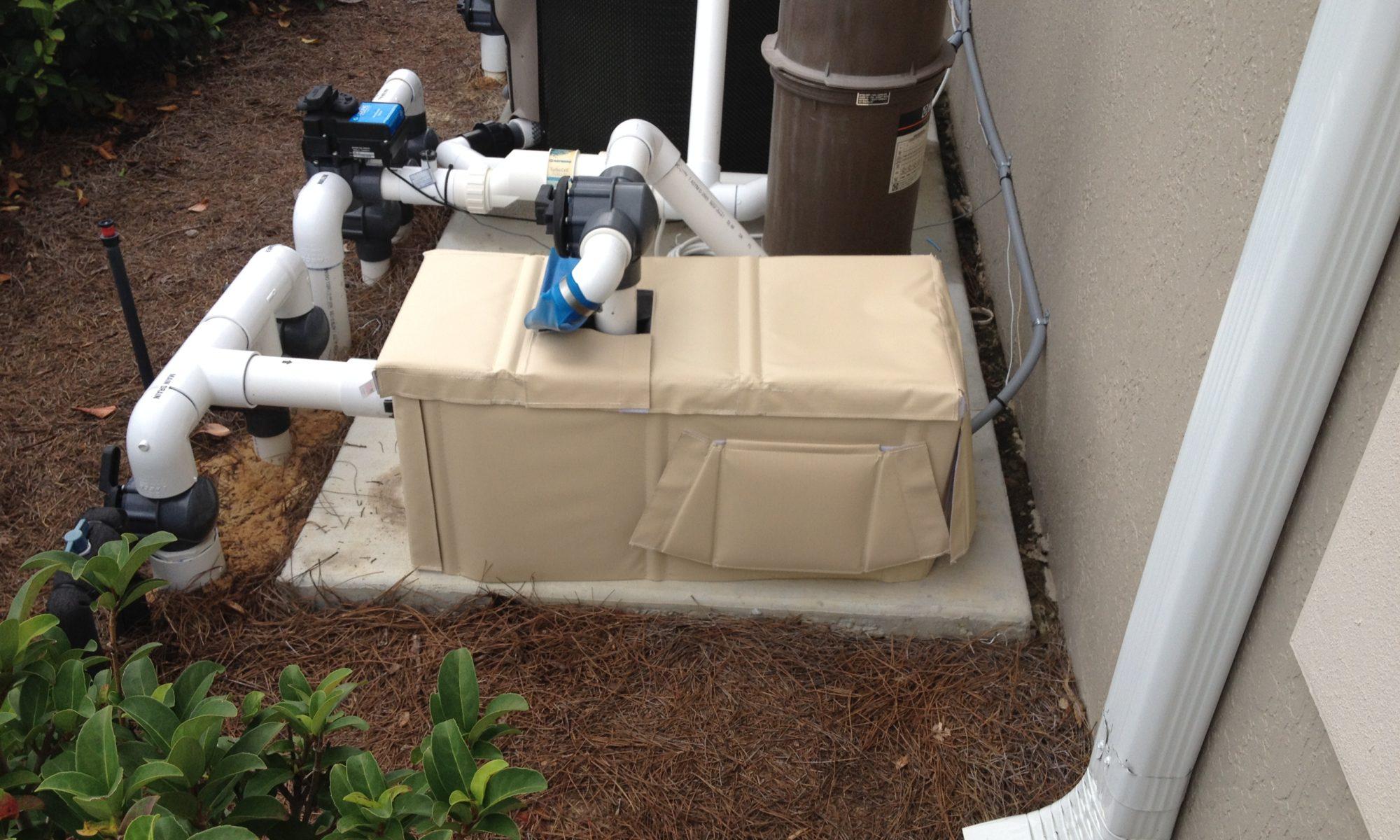 pool pump covers