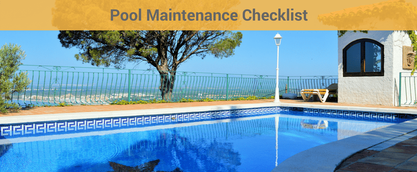 4 Effective checklist for maintaining pool – A complete guide