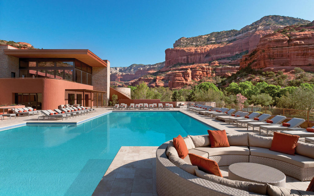 Swimming Pool at the Enchantment Resort